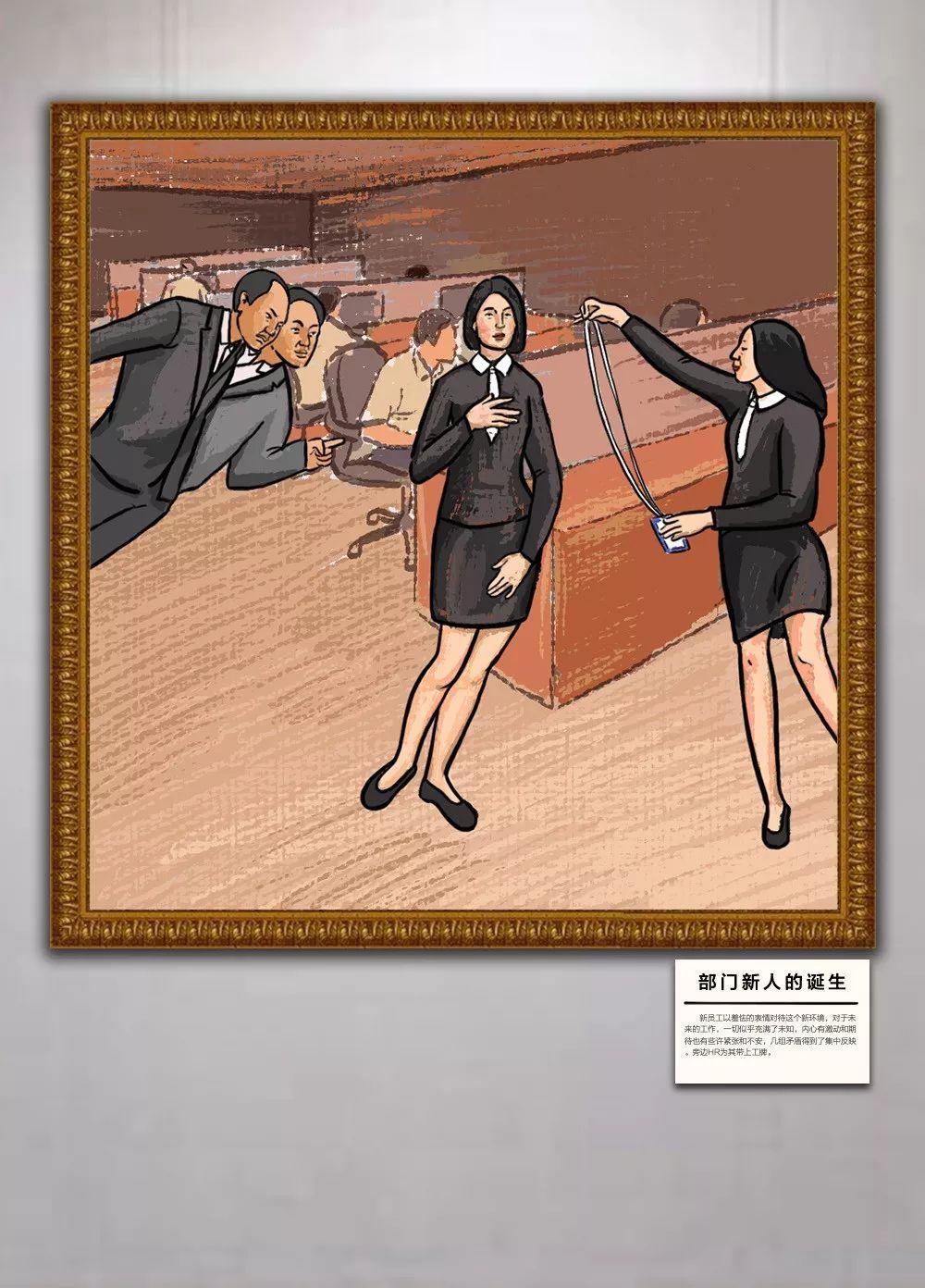 办公室名画展:限时开放,免费参观