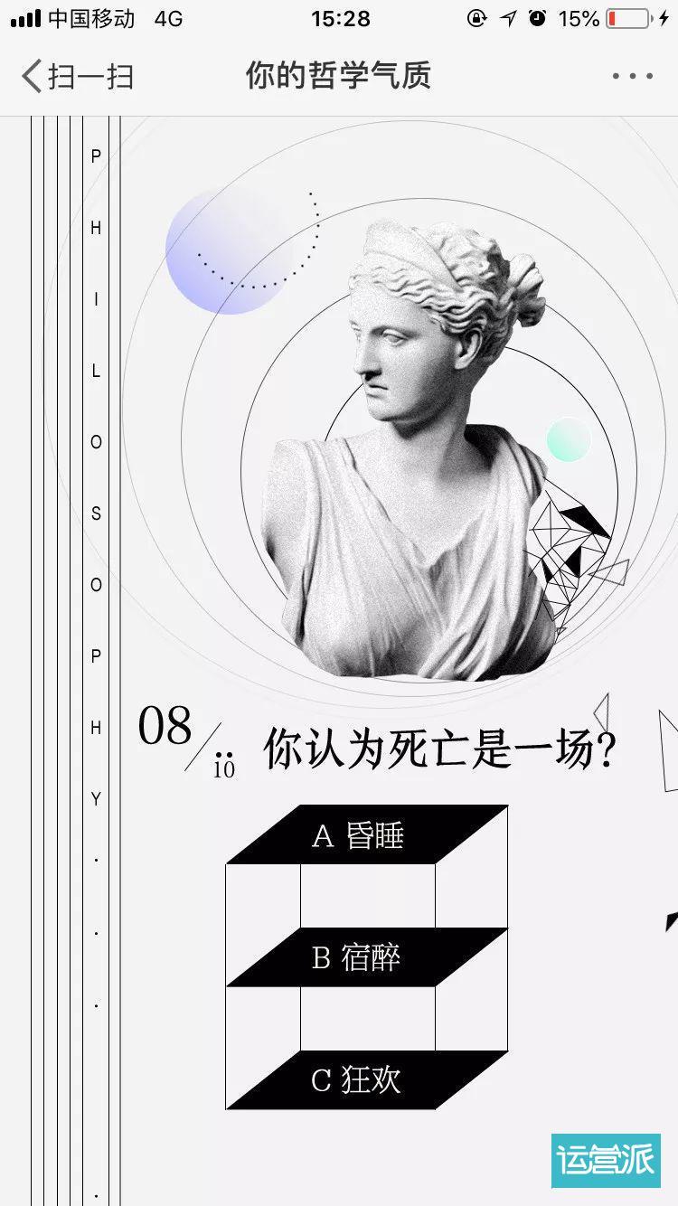 网易「我的哲学气质」H5刷屏,你为什么还没玩腻?