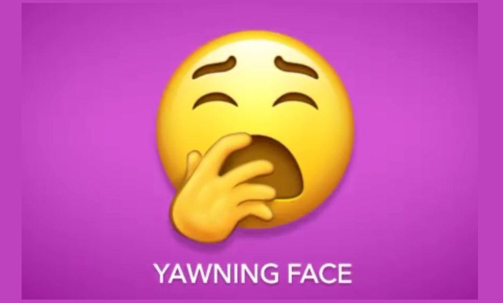 Emoji又出新表情了!这个表情目测要火!