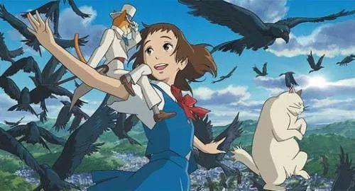 夏天,宫崎骏的动漫,治愈系的文案