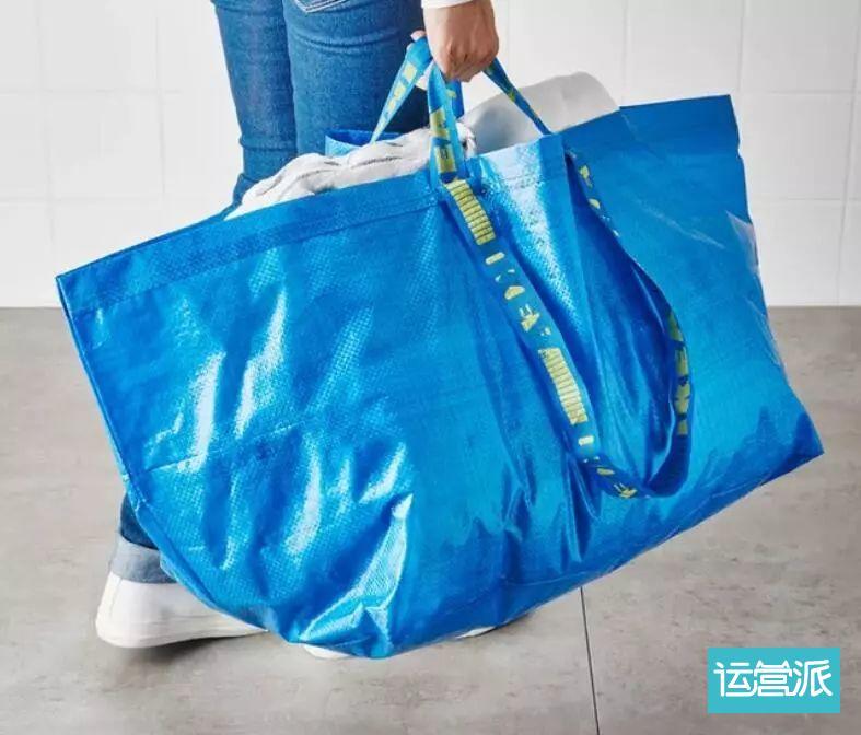 为什么4.5元的蓝色购物袋,才是宜家最硬核的移动广告?