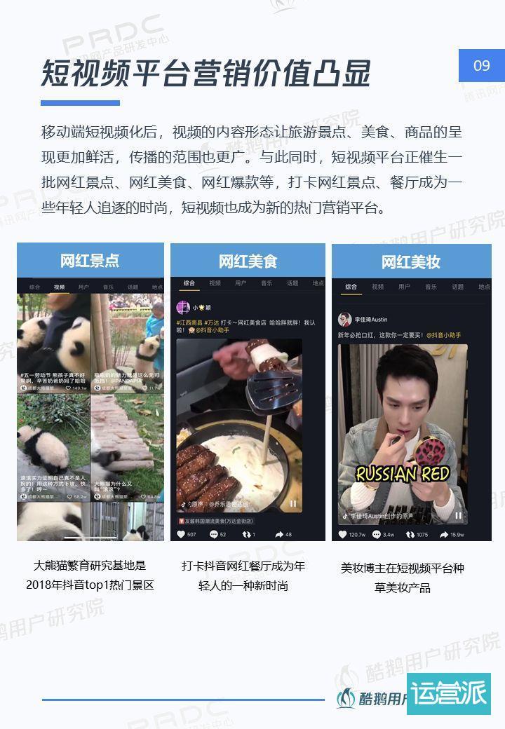 6.4亿用户的狂欢:短视频用户洞察报告 | 酷鹅用户研究院